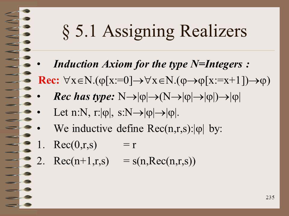 Rec: xN.([x:=0]xN.([x:=x+1]))